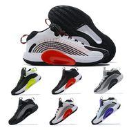 Jumpman pf 2021 män basket skor sneakers blå void universitet röd omlopp grå des chaussures man atletisk skateboard utomhus tenis tränare