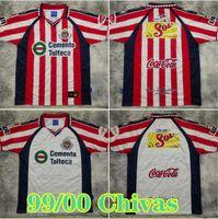 99 00 Chivas Retro Guadalajara Soccer Jerseys 06/07 Chivas Regal O.Peralta I.Brizuela A.Pulido Chemise de football A.Vega Uniforme de football