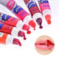 Lip Gloss 10 pcs descascar o batom líquido impermeável máscara duradoura máscara hidratante maquiagem de maquiagem puxar lint cosméticos