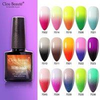 Nail Gel Clou Beaute 10ml Thermo Polish Change Color Temperature UV Lacquer LED Varnish Long Lasting