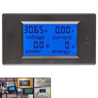 Voltage Meters 1pcs DC 6.5-100V 0-100A LCD Display Digital Current Power Energy Meter Multimeter Ammeter Voltmeter 100A Shunt