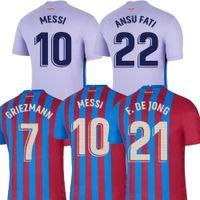 Qualidade tailandesa 21/22 Jerseys de futebol 2022 Kit de futebol camisetas Homens + crianças tops uniforme