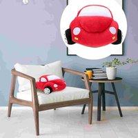 Pillows 40cm Car Shape Pillow Cartoon Plush Stylish Throw For Kids