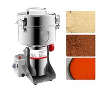 2500 جرام من الحبوب طاحونة الكهربائية كسارة 220 فولت plaverizer الحبوب المكسرات القهوة الفول الجافة الغذاء مطحنة آلة طحن