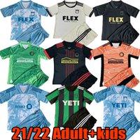 21 22 MLS Yetişkin Çocuklar Set Futbol Forması Setleri 2021 2022 Atlanta Los Angeles Austin FC Galaxy Toronto Ev Uzakta Kaleci Futbol Gömlek Kitleri Eğitim Giyim Kiti