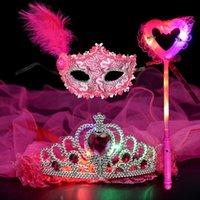 Party Masks Mask queen masquerade dance children's decoration headdress dress
