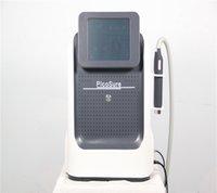 Machines portables Q Switch ND YAG 1064 532 755 Laser Picosecond Tatouage Pigment Pigment Matériel de rajeunissement de la peau