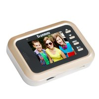 "2.4 ""Digitale Türklingel LCD-Farbbildschirm 160 Grad Peephol Viewer Türauge Video HD Home Sicherheitskamera Telefone"