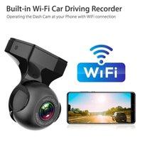Mini voiture DVR Caméra Dash Cam WiFi G-Sensor Night Vision Visionnage Vidéo Vue arrière Caméras Capteurs de stationnement