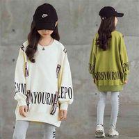 Child Sweater Girl Autumn Long Sleeve Jersey Baby Hoodies Children's Clothing Print Fashion 3 5 7 8 10 12 14 Years Kids 210913