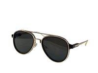 Sunglasses For Men and Women Summer style 1494 Anti-Ultraviolet Retro Oval Plate Metal Full Frame fashion Eyeglasses Random Box