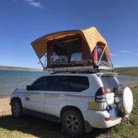 Casa de Camping Móvel Duas Pessoas Cama de Viagem Carro Hard Shell Telhado Tenda de Tenda ATV