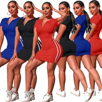 2021 Fashion Casual Sports Tight Sexy Hip Skirt Dress