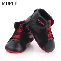 First Walkers Baby Sneaker For Born Boys Sport Basketball Shoes Soft Sole Anti-Slip Bebes Spring Autumn Kids Sneakers