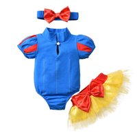 Clothing Sets 3Pcs Baby Girls Clothes Set Fresh Contrast Color Short Sleeve Romper And Bowknot Pants With Headband Born Outfits