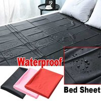 Bedding Sets PVC Plastic Adult Sex Bed Sheets Sexy Game Waterproof Hypoallergenic Mattress Cover Full Queen King