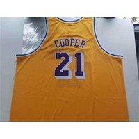 668Rare jersey de basquete homens juventude mulheres vintage 1984-85 michael cooper tamanho de faculdade s-5xl personalizado qualquer nome ou número