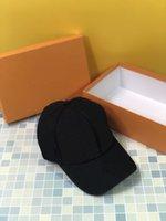 여성 망 모자 casquette 편지 양동이 모자 고품질 캔버스 코튼 골프 공 장비 모자 클래식 Snapbacks 야구 아이콘 고라 모자 상자