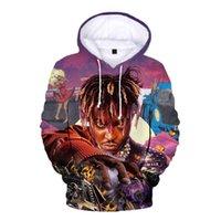 New Rip сок wrld 3d печатная капюшона 999 хип-хоп толстовки мужские женские пуловер с капюшоном хараджуку негабаритные вершины