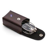 EST + 1.0 ~ 4.0 Diopter Unisexe Vision Ultralight Soins Pliant Lunettes de lecture avec boîte Ultra-Lumière Lunettes de soleil magnétiques magnétiques