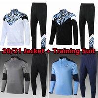 Manchester 2021 Eşofman Futbol Forması Siyah Beyaz Mavi Gri 20 21 22 G.Jesus Şehir Sterling Ferran De Bruyne Kun Aguero Futbol Gömlek Erkek Ceket Eğitim Seti