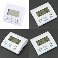 درجة الحرارة الرقمية الرطوبة الرطوبة ميزان الحرارة TL8025 محطة الطقس الحرارية termometro reloj التصوير الحراري 472 R2