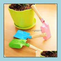 Home & Gardenmini Gardening Shovel Colorf Metal Small Garden Hardware Tools Digging Kids Spade Tool Zwl256-1 Drop Delivery 2021 Baqfx