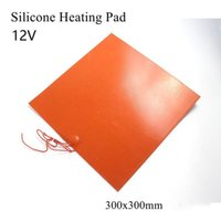 Smart Home Control 12 24 110 220V 300W Flexible Waterproof Silicon Heater Pad For 3D Printer And Engine Oil Tank 300x300mm Heating