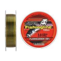 200m nylon super linhas de pesca fluorocarbono revestido monofilamento líder líder de linha de pesca de carpa H1014