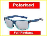 2021 Nouvelle qualité de lunettes de soleil Polarisée de Rinc Polarisée de la mer Pêche de surf de navigation lunettes UV400 lunettes avec package complet