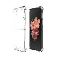 Clear Shockproof Phone Back Cases For Samsung Galaxy Z FLIP 3 Flip3 Anti-drop Protection Air Bag Smartphone Cover PC TPU