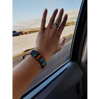 Tennis Balibali Hematite Natural Stone Bead Strand Bracelets For Women Leather Wrap Bracelet Pierre Naturelle Men Friendship