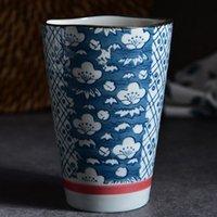 Mugs Large Coffee Tea Ceramic Mug High Capacity 250ml Traditional Handpainted Porcelain Teacup China