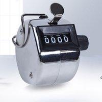 4 basamaklı numara Mini El Tally sayacı dijital golf tıklama manuel eğitim sayma max. 9999 Sayaç Toptan DHF5929