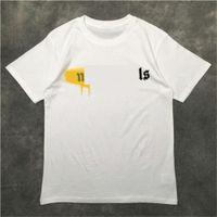 2021 손바닥 천사 남성 T 셔츠 PA 의류 스프레이 편지 같은 캐주얼 모든 일치로 느슨한 디자이너 팬더와 함께 봄 여름 조수 브랜드