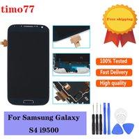 Paneles táctiles de teléfono celular original para Samsung Galaxy S4 I9500 I9505 I545 I337 M919 L720 Digitalizador de pantalla LCD Pantalla de pantalla Digitalizante Prueba estrictamente con herramientas
