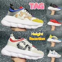 2022 이탈리아 패션 캐주얼 신발 반사 높이 반응 스니커즈 디자이너 플랫폼 남성 여성 운동화 검은 흰색 멀티 컬러 스웨이드 리차드 노란색 트레이너