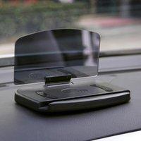 자동차 전화 HUD 무선 충전기 패드 헤드 업 디스플레이 화면 충전 홀더 브래킷 GPS 네비게이션 속도 프로젝터 셀 마운트 홀더