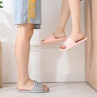 Slippers Women Summer Thick Bottom Indoor Home Couples Bathroom Non-slip Soft Tide To Wear Cool Bath Accessory Set