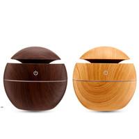 المرطب الخشب الحبوب الضروري النفط الناشر بالموجات فوق الصوتية تنقية الهواء الروائح الخيزران اللون المرطبات LLB9142