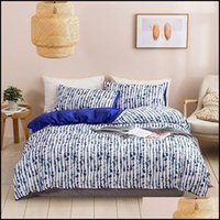Supplies Textiles Home & Gardenin Stock Sheet Fitted Flat Sheets 3 Pcs 7 Colors Twin Double Queen King Bedding Sets Quilt Er Bed Pillowcases