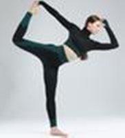 Внутренняя йога Фитнес на открытом воздухе бегущие брюки, сетка сращивание плотно отделки брюки синий черный белый желтый