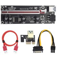 Plus PCI-E Riser Card PCI Express 1X To 16X USB 3.0 Cable 6Pin Connector For Graphics Video Mining Computer Cables & Connectors