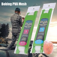 Fishing Accessories PVA Mesh 5M 25mm 37mm Carp Feeder Trap Bait Bag Nets Soluble In Water To Beat The Nest