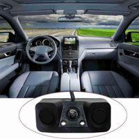 Car Rear View Cameras& Parking Sensors Sensor Reverse Backup Camera 2 Buzzer Alarm With Indicator N2t4