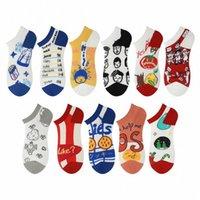 Coppie calze calze da donna Breve calzini superficiali Bocca di moda Fashion Breve Estate Stile Coreano-Stile Cute Cartoon Carino Stile Giapponese Stile Giapponese Stile sottile #- E5AC #