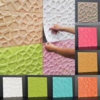 Wall Stickers 3D Foam Decorative Adhesive Panels Home Bedroom Decor Living Room Bathroom Kids TV Creative Waterproof Wallpaper