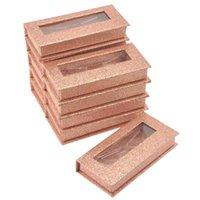 Pestañas Falsas Maquillaje Mink 25mm Palestas Cajas Caja al Por Mayor Caja Pestaach Paquete Paquete Paquete Casos 3D Bulk
