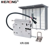 Hot Sell Electric Solenoid Lock Intelligent Electronic Miniature Logistics cabinet Locks CE RHOS Certificated Top Quality