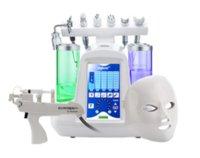Hotsale 9 in 1 Hydafacial Su Oksijen Jet Aqua Peel Güzellik Makinesi Cilt Gençleştirme Salon / Spa / Ev için Yüz Derin Temizleme